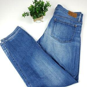 Madewell Rivet & Thread tapered leg jeans